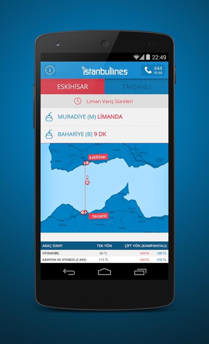İstanbul Lines Iphone Uygulması