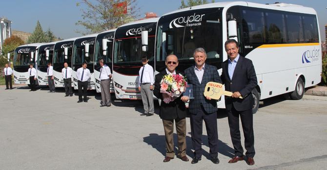Isuzu Marka Araçlar Ankara'daki fiolara dahil oldu