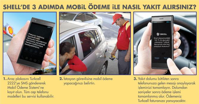 Araçtan inmeden SMS ile yakıt alabilecek