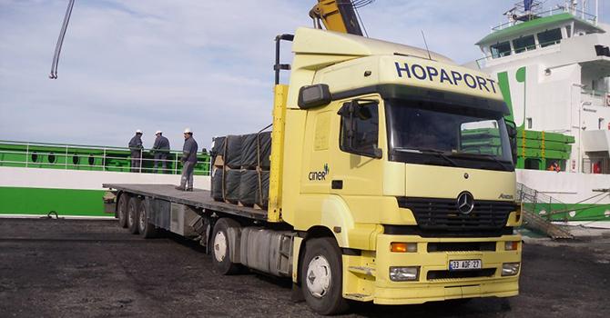 Romanya'dan Hopa'ya, limandan İran'a taşımacılık