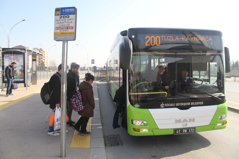 200 numaralı otobüs hattının güzergahında değişiklik
