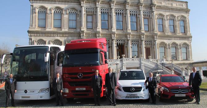 Mercedes 2014 yılını rekorla kapattı