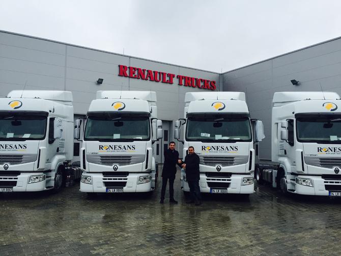 Rönesans Nakliyat,Renault Trucks ile büyümeye devam ediyor