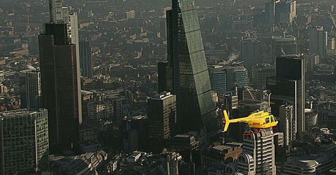 Londra'da havadan taşıma dönemi