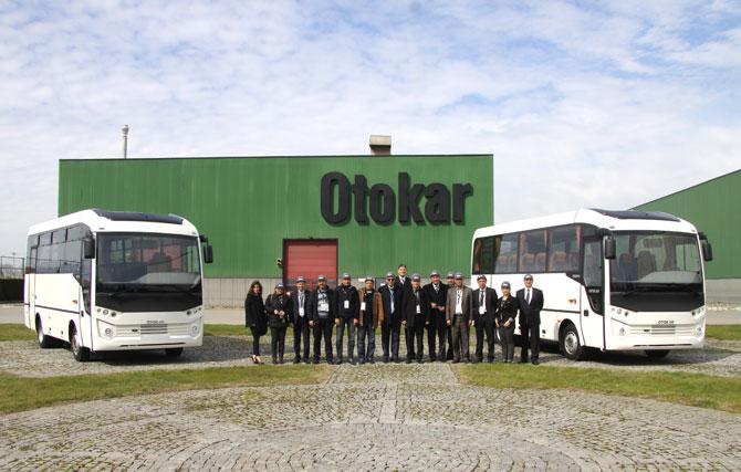 Tunus heyeti Otokar fabrikasını ziyaret etti