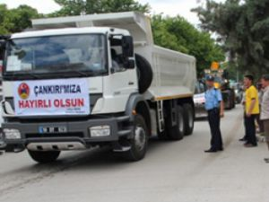 Çankırı Belediyesi araç filosunu güçlendiriyor