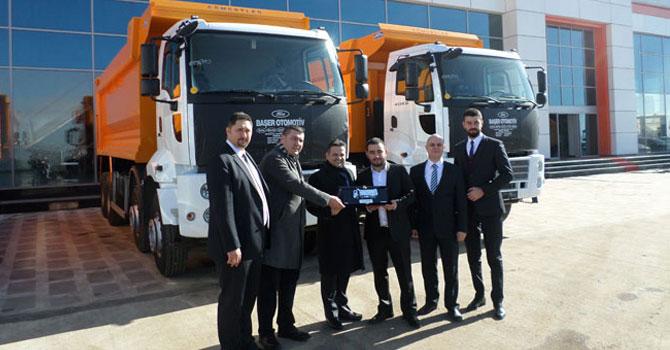 Ankara'ya dev filo teslimatı
