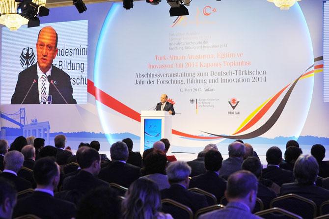 Tırsan,Türk-Alman Bilim Yılında Ar-Ge'yi arttırdı