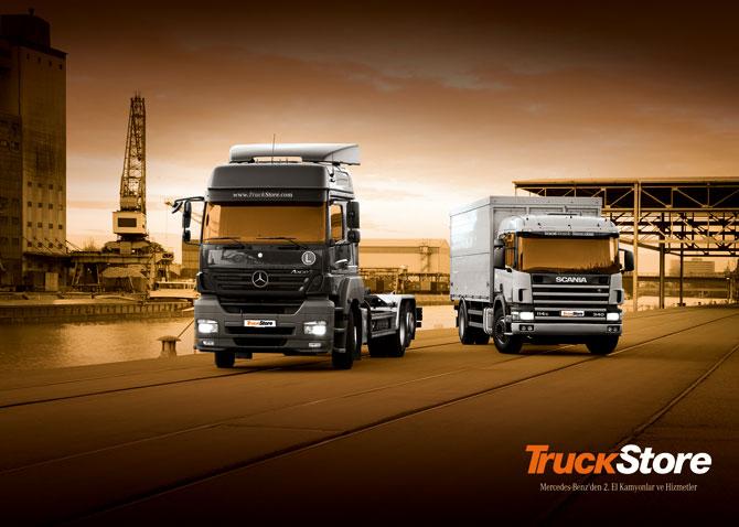 Mercedes TruckStore'a Tekirdağ'da start veriyor