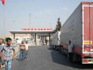 41 Türk TIR'ı 20 gündür tampon bölgede mahsur