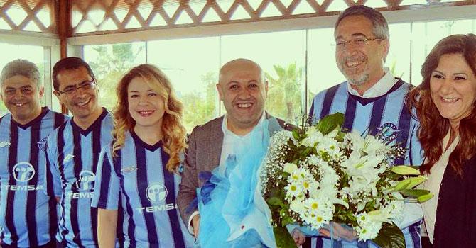 Temsa,Adana Demirspor'u ziyaret etti