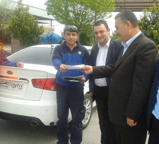 TÜVTÜRK Suriye plakalı araçların muayenelerine başladı