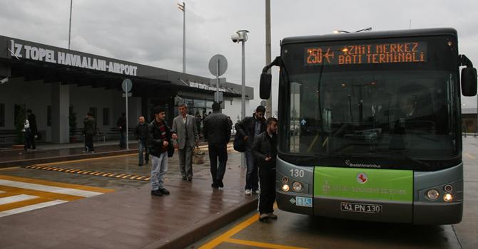 Cengiz Topel Havalimanı'na otobüs seferleri başladı