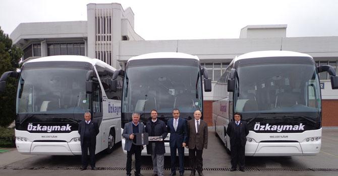 Özkaymak Turizm'e 25 NEOPLAN Tourliner