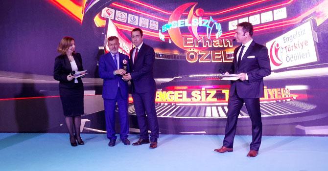 Engelsiz Türkiye Ödülleri'nde Temsa'ya ödül