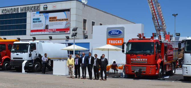 Diyarbakır'da Ford Trucks Şov!