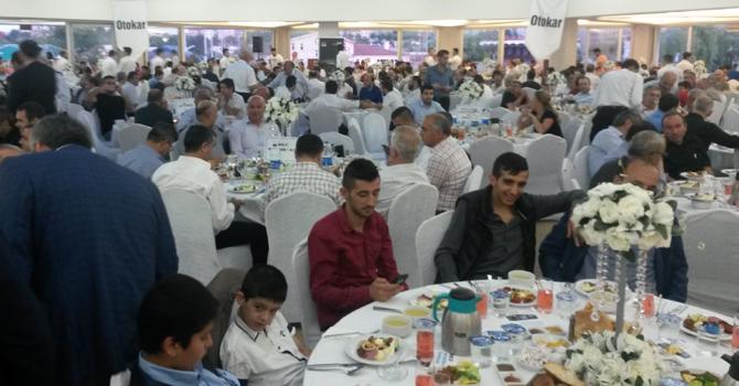 İstanbul Halk Ulaşım'ın İftar yemeği