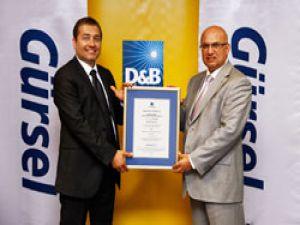Gürsel Turizm D&B Türkiye'den sektörünün en yüksek notunu aldı