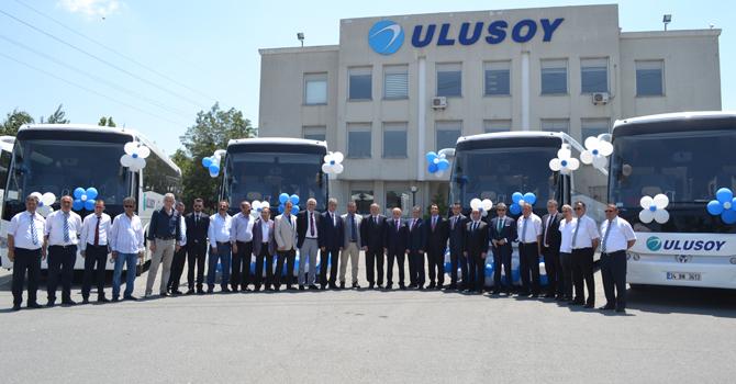 Temsa'dan Ulusoy'a 34 Safir VIP