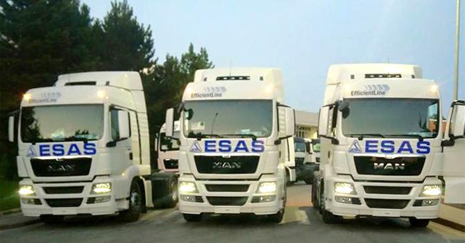 ESAS Petrol, Filosuna MAN Çekicileri Dahil Etti