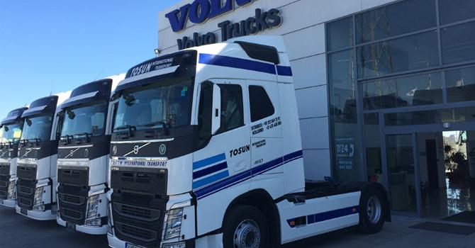 Tosun Uluslarası Nakliyat ve Volvo Trucks İşbirliği