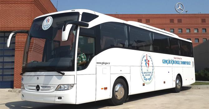 Özel Engelli Sporcu Otobüsleri Teslimatı
