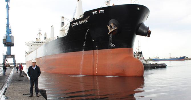 HOPAPORT'a Bir Günde 8 Gemi Giriş Yaptı
