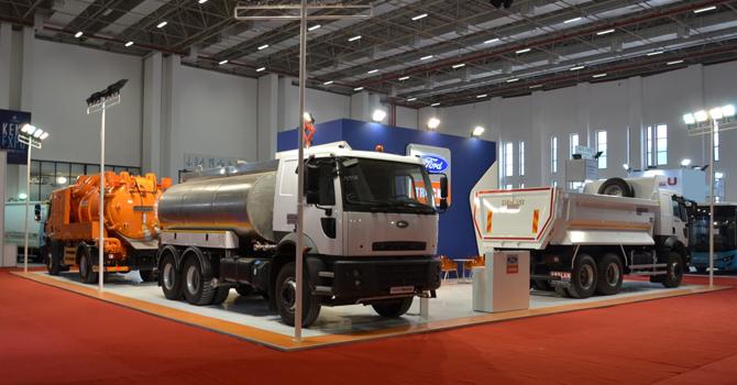 Ford Trucks, İzmir Kent Expo 2015'te Şov Yaptı