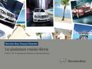 Mercedes Benz Otomobillerde müşteriye özel kampanya