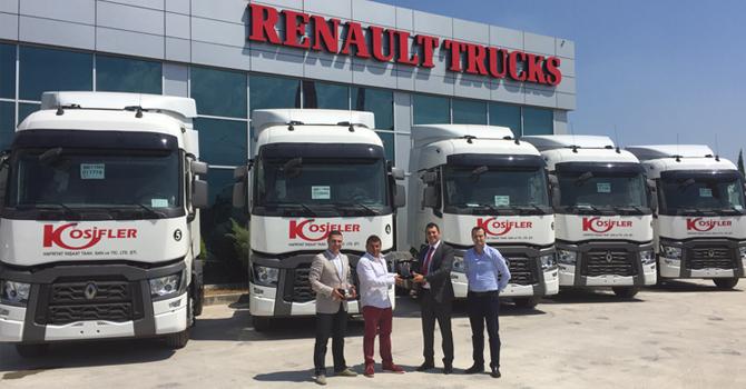 Filolar Renault Trucks İle Büyüyor