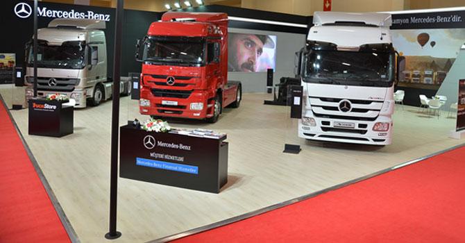 Mercedes-Benz Türk, Logitrans'ta Yerini Aldı