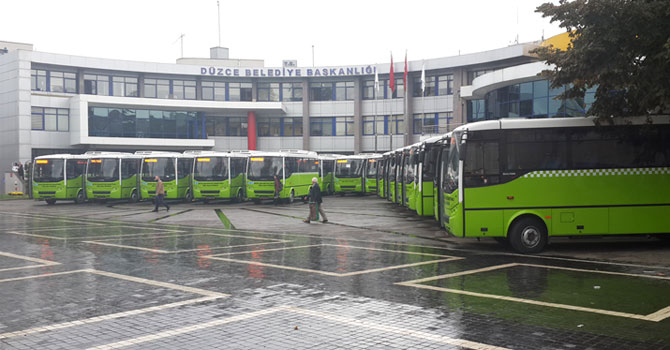 Otokar, Düzce'ye 34 Araç Teslimatı Yaptı