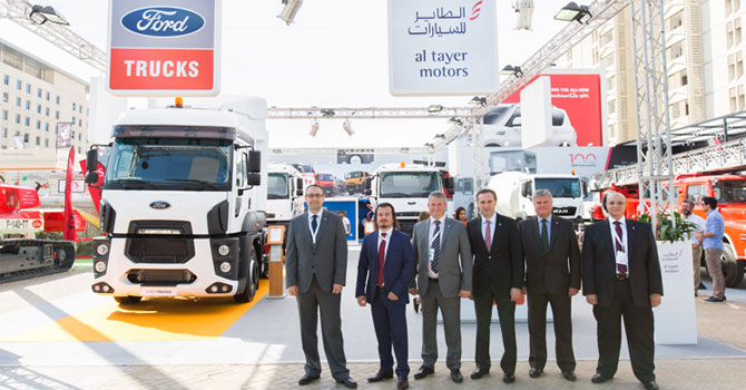 Ford Trucks, Dubai Big 5 Fuarı'nda!