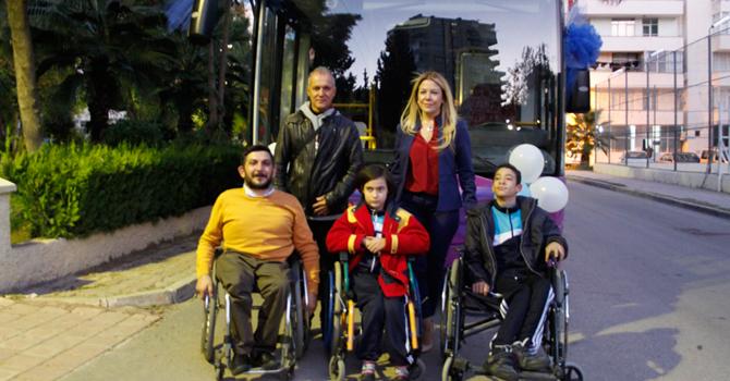 Temsa'dan Genç Engelliler Spor Kulübü'ne Avenue
