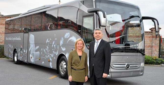 Tourismo Euro 6 motoru ile göreve hazır