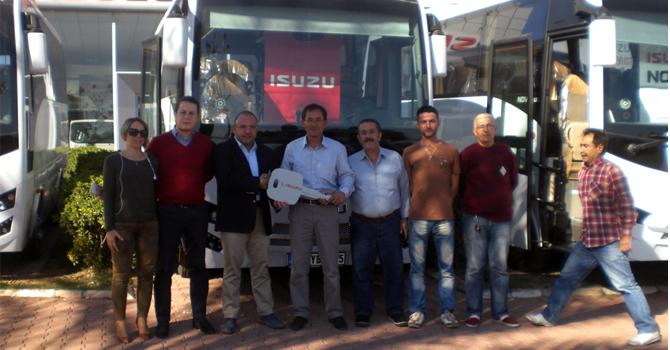 Antalya Çam-Tur Filosuna Novo Lux