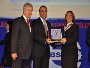 EBSO'dan SAFKAR'a ödül