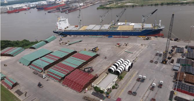 200.000 ton boruyu ABD'ye taşımıştı