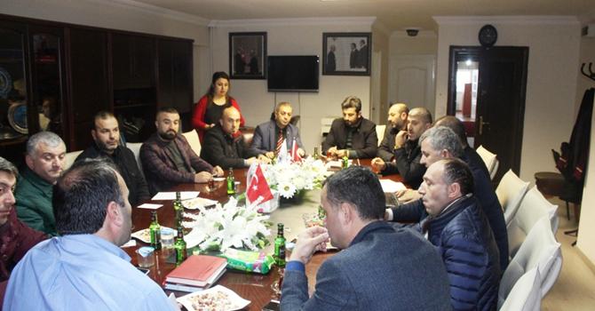 UND Çalışma Grubu Hopa'da toplandı