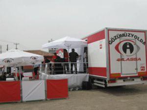 Lassa'dan 5 bin 150 şoföre uygulamalı göz sağlığı eğitimi