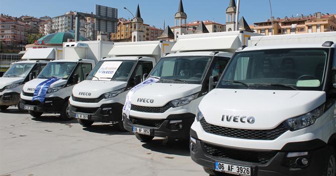 Filosunun tamamını Iveco Daily araçlarla yeniledi