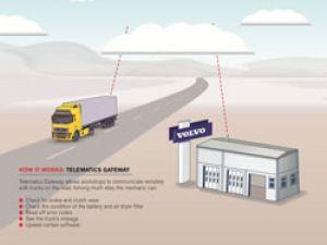 Volvo Telematik ağ geçidiyle servis hizmetine yenilik getirdi