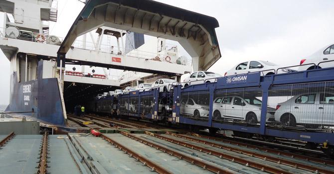 OMSAN, Dacia'yı Demiryoluyla Taşıy