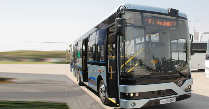 TEMSA'nın elektrikli otobüs MD9 electriCITY