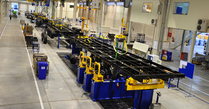 TIRSAN yeni fabrika kuruyor