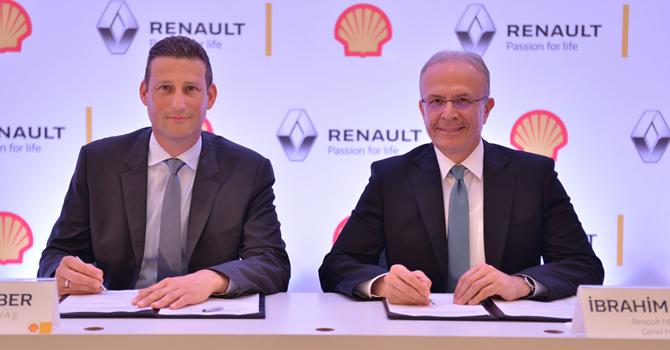 Renault'un ile dolumları Shell'den