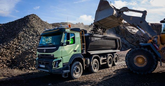 Volvo Trucks inşaat serisine tam not