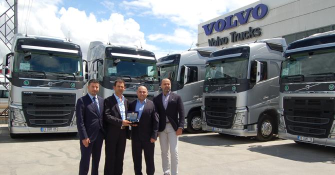 Arıç Lojistik, Volvo ile yola devam ediyor