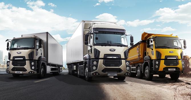 Yeni Ford Trucks Serisi Türkiye Turu'nda