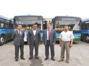 MOTAŞ 6 otobüsle filosunu gençleştirdi
